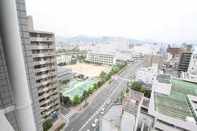 広島電鉄宇品線/市役所前 8階/14階建 築16年
